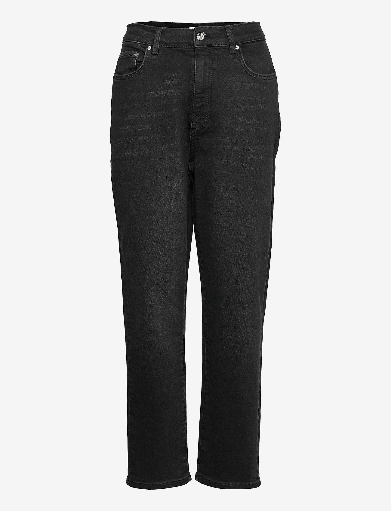 Gina Tricot - Comfy mom jeans - mom jeans - black (9000) - 0