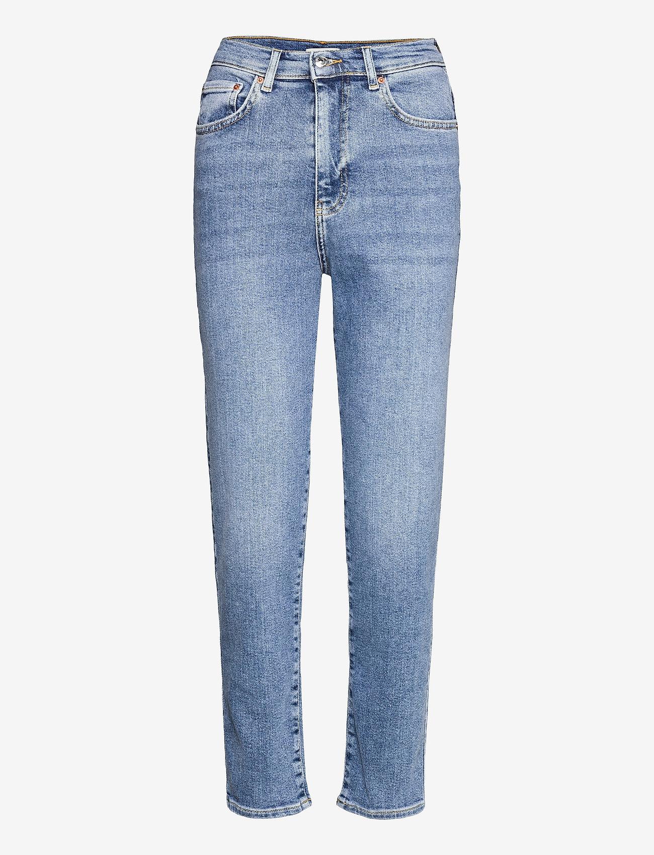 Gina Tricot - Comfy mom jeans - mom-jeans - indigo blue (5037) - 0