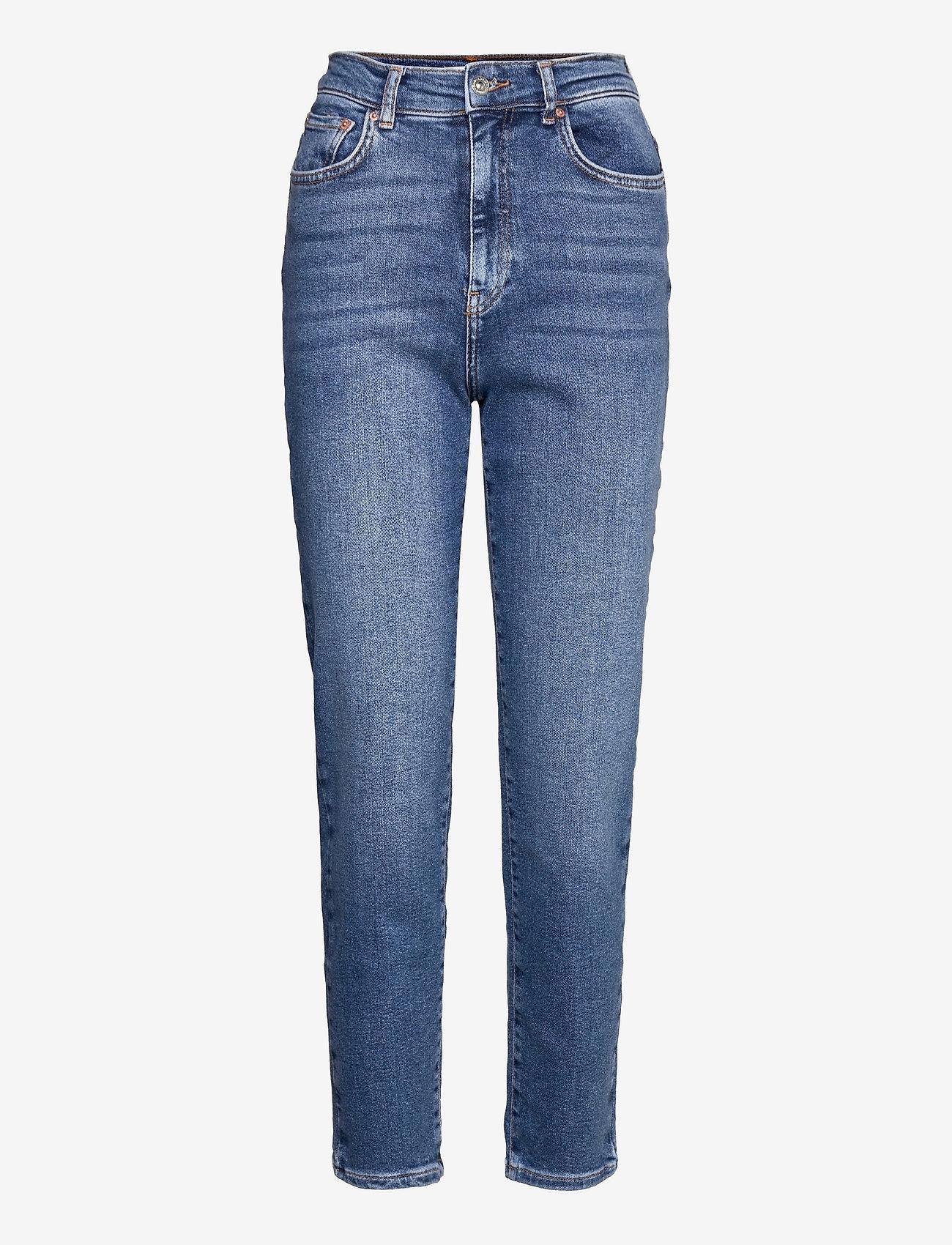 Gina Tricot - Comfy mom jeans - mom jeans - skyline blue (5062) - 0