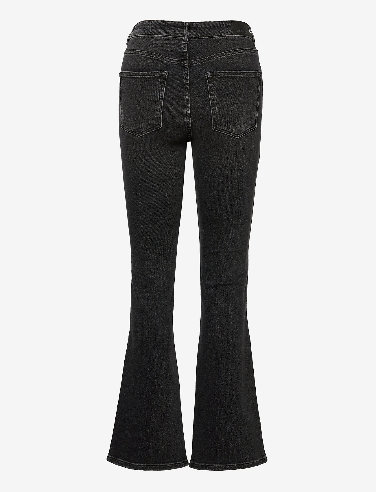 Gina Tricot - Meja flare jeans - schlaghosen - black/grey - 1
