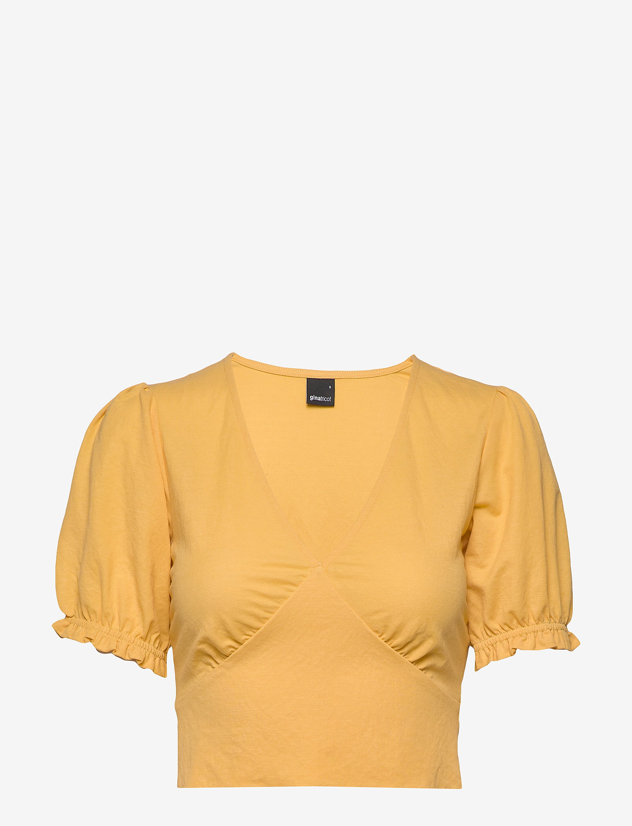 Gina Tricot - Kathy top - crop tops - ochre (2003) - 0