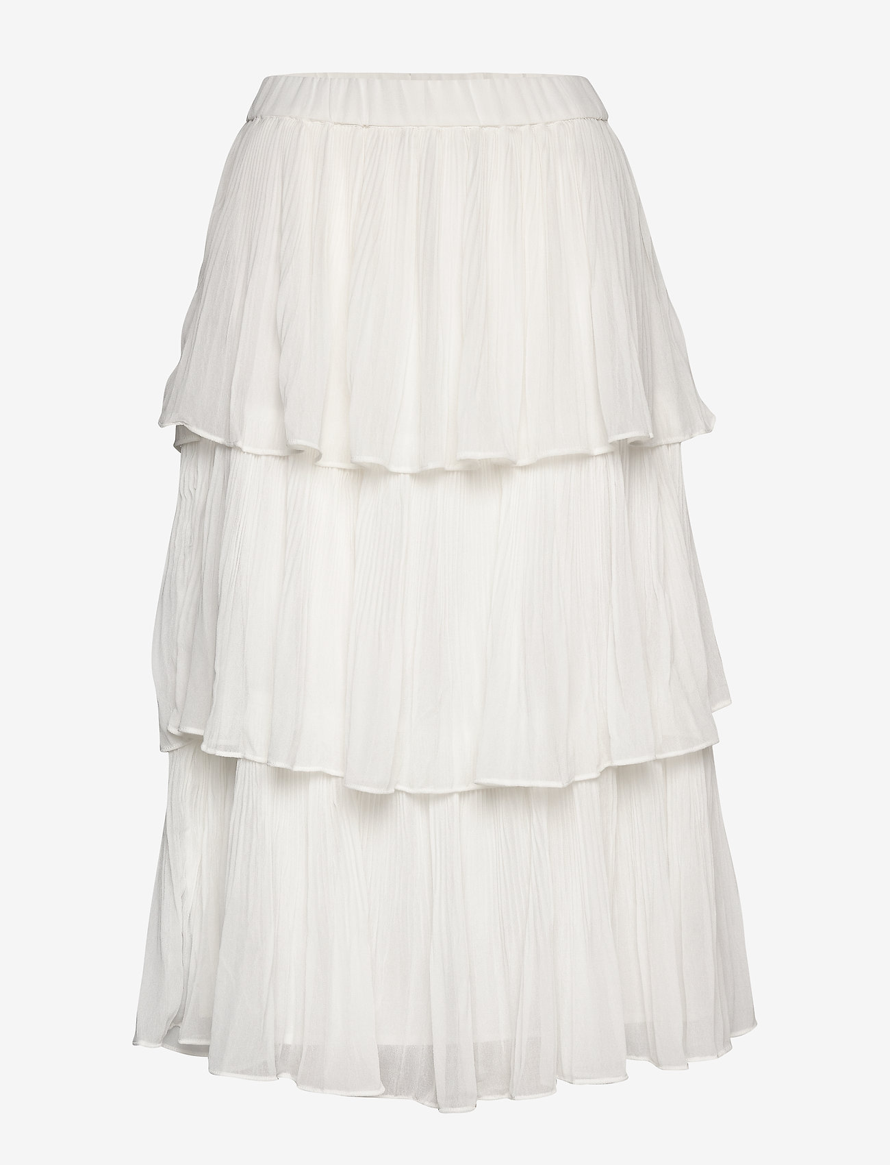 Gina Tricot - Dolly pleated skirt - midi - offwhite