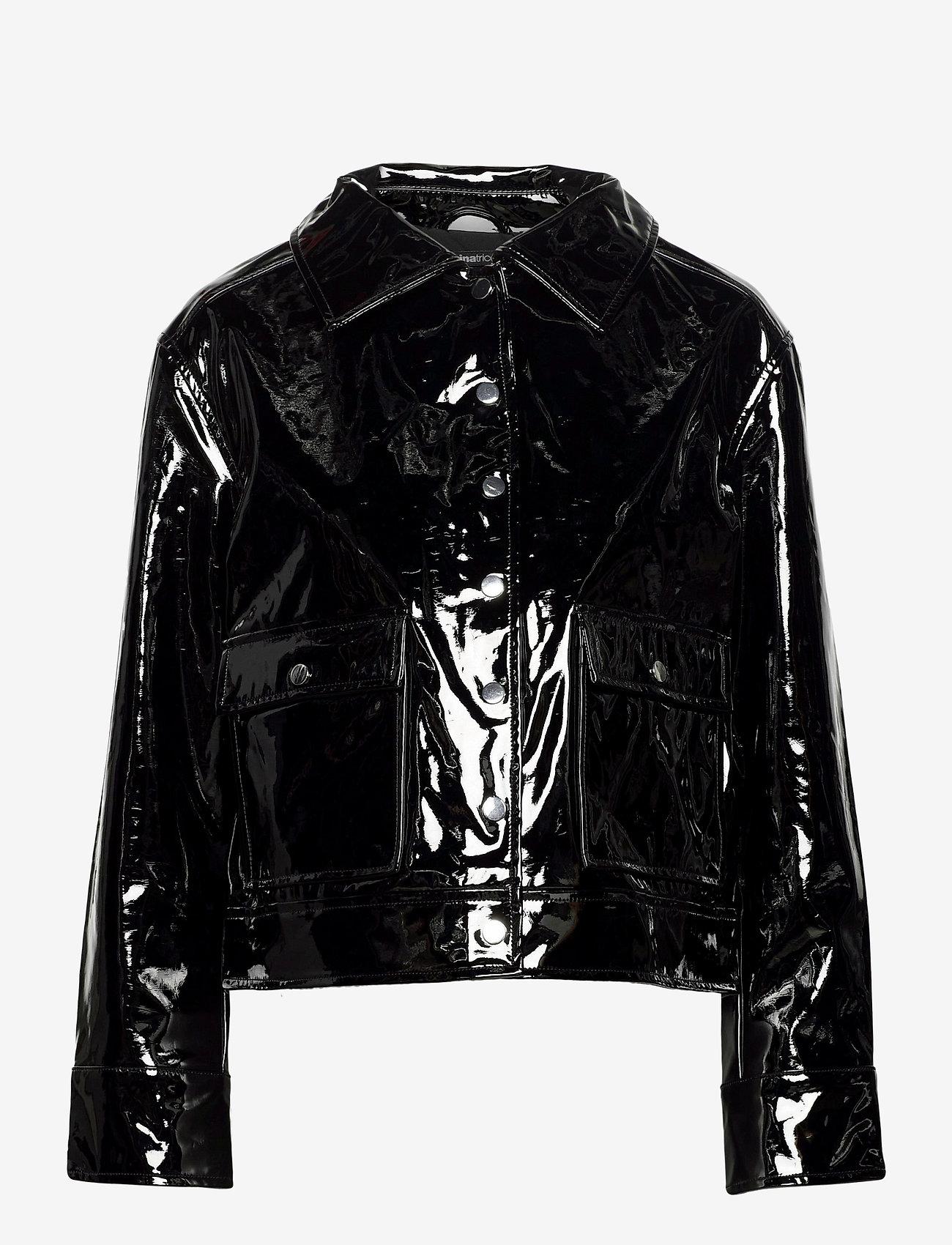 Gina Tricot - Rut trucker jacket - skinnjackor - black (9000) - 1