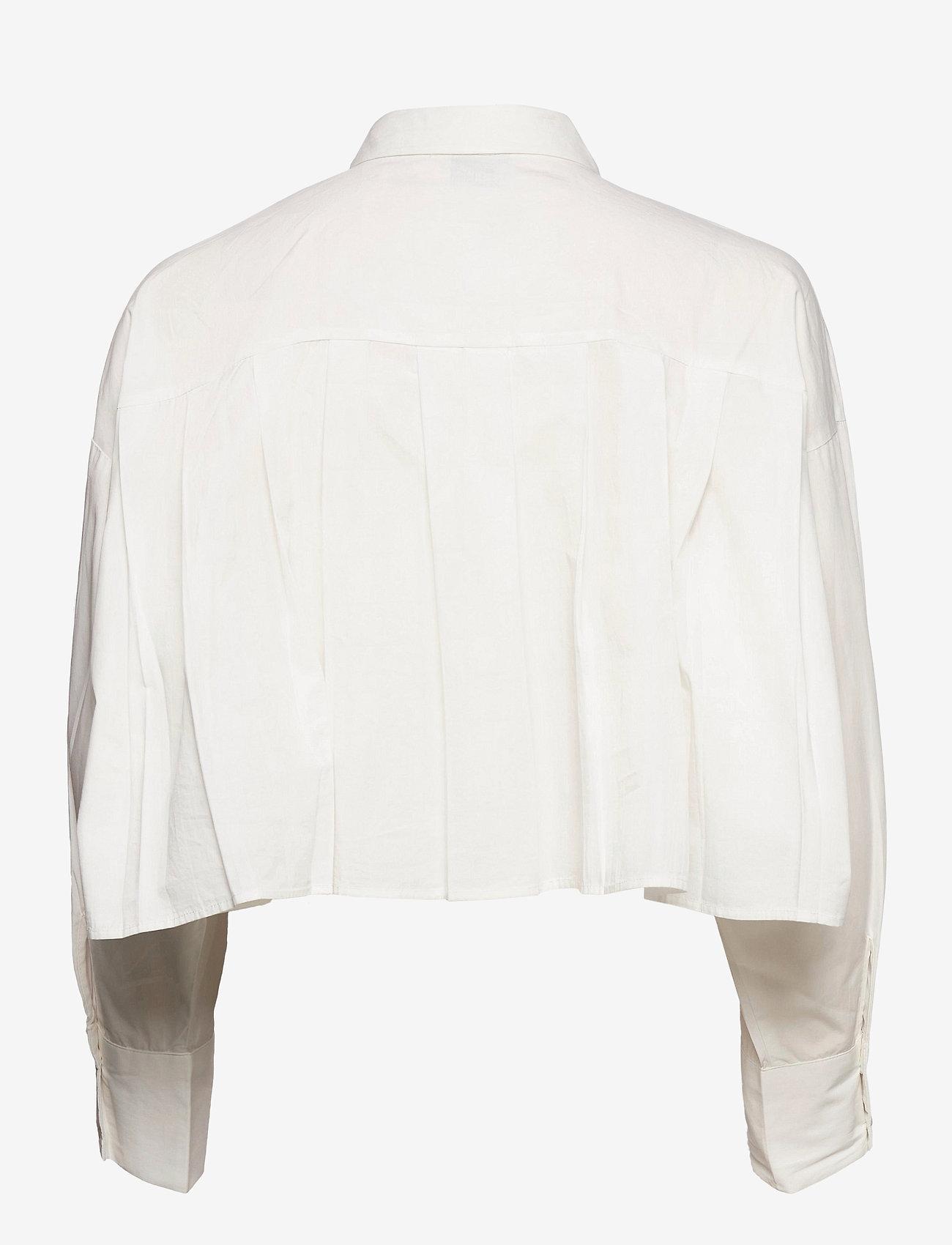 Gina Tricot - Briella shirt - long sleeved blouses - offwhite - 1