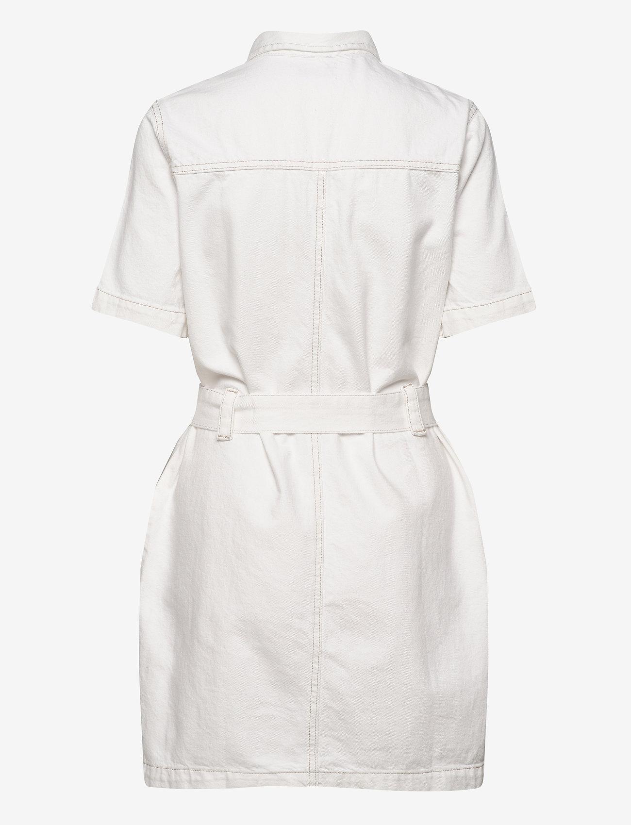 Gina Tricot - Utility denim dress - jeansowe sukienki - offwhite - 1