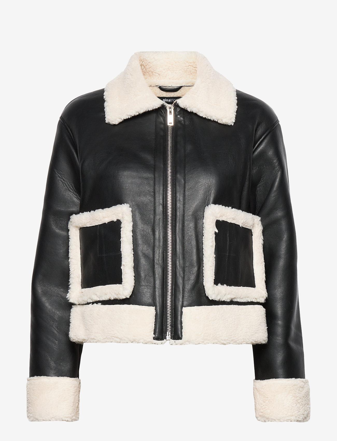 Gina Tricot - Amanda trucker jacket - skinnjakker - black (9000) - 0