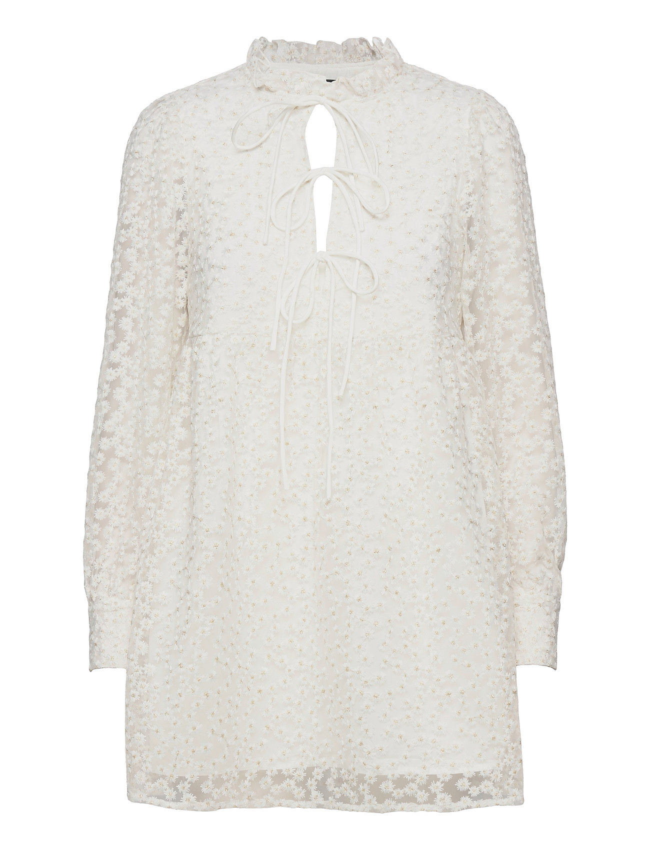 Dea Dress Dresses Lace Dresses Hvid Gina Tricot