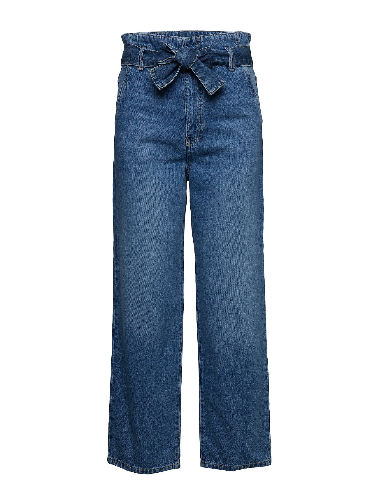 Gina Tricot Belted paperbag jeans