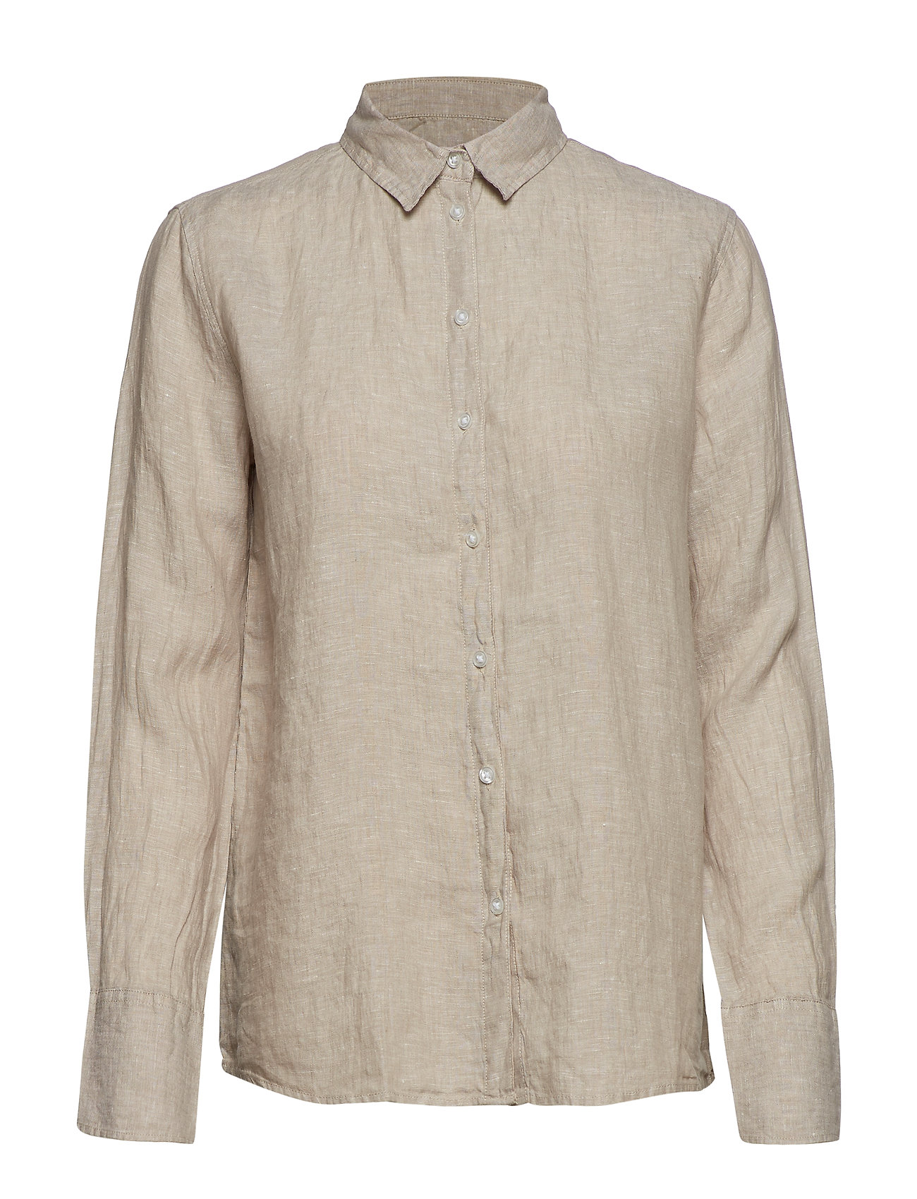 Gina Tricot Courtney linen shirt Ögrönlar