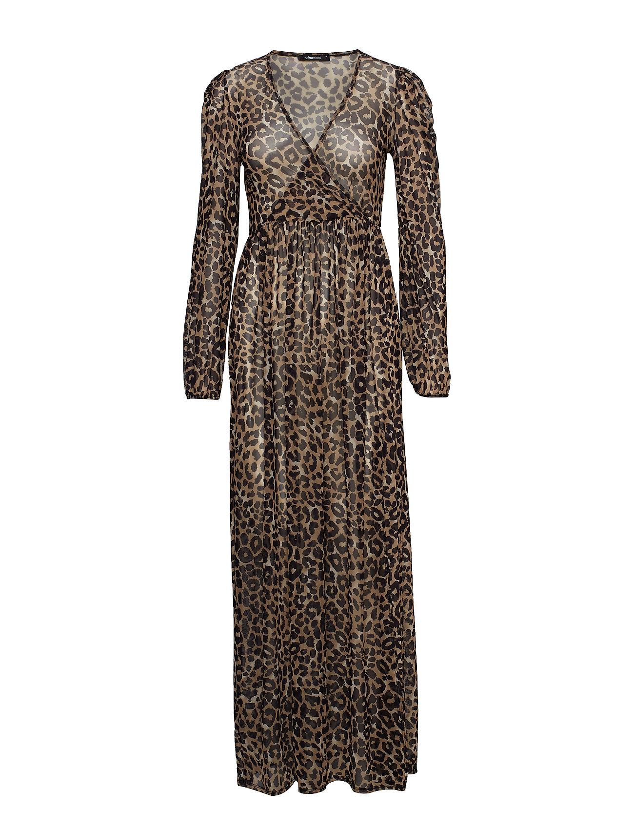 feeb26119ab7fc Leo Maxi Dress (Leo aop) (£40.50) - Gina Tricot -