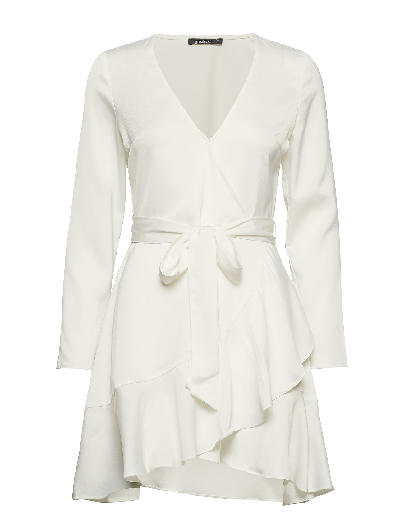 928f3adc60e2 Gina Tricot korte kjoler – Elina Wrap Dress til dame i Hvid - Pashion.dk