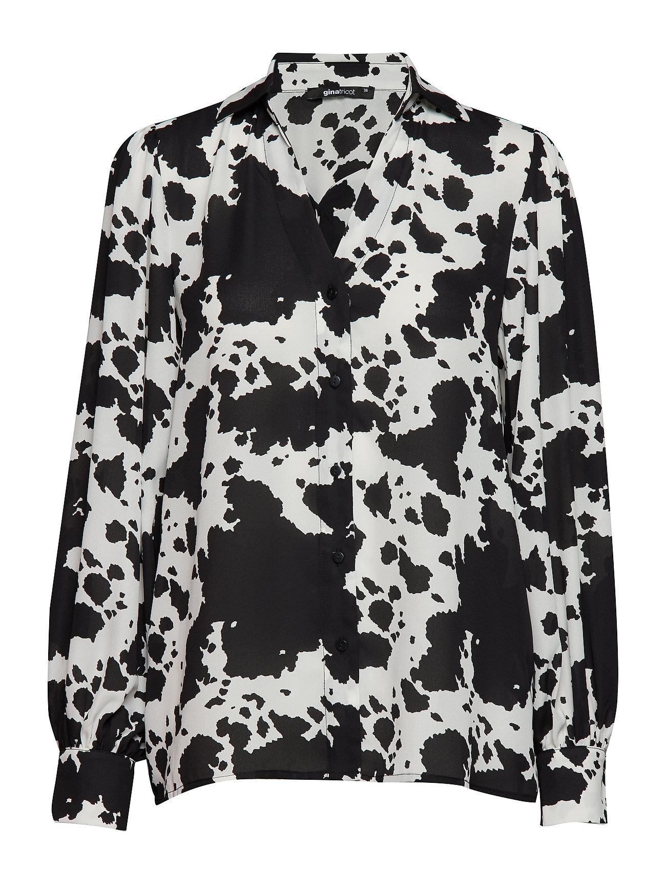 Gina Tricot Millie blouse Ögrönlar