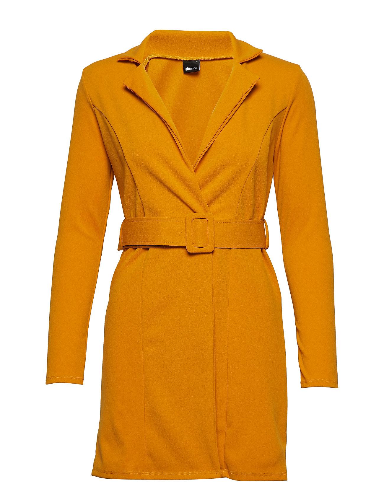 Bea Blazer Dress Kort Kjole Orange GINA TRICOT