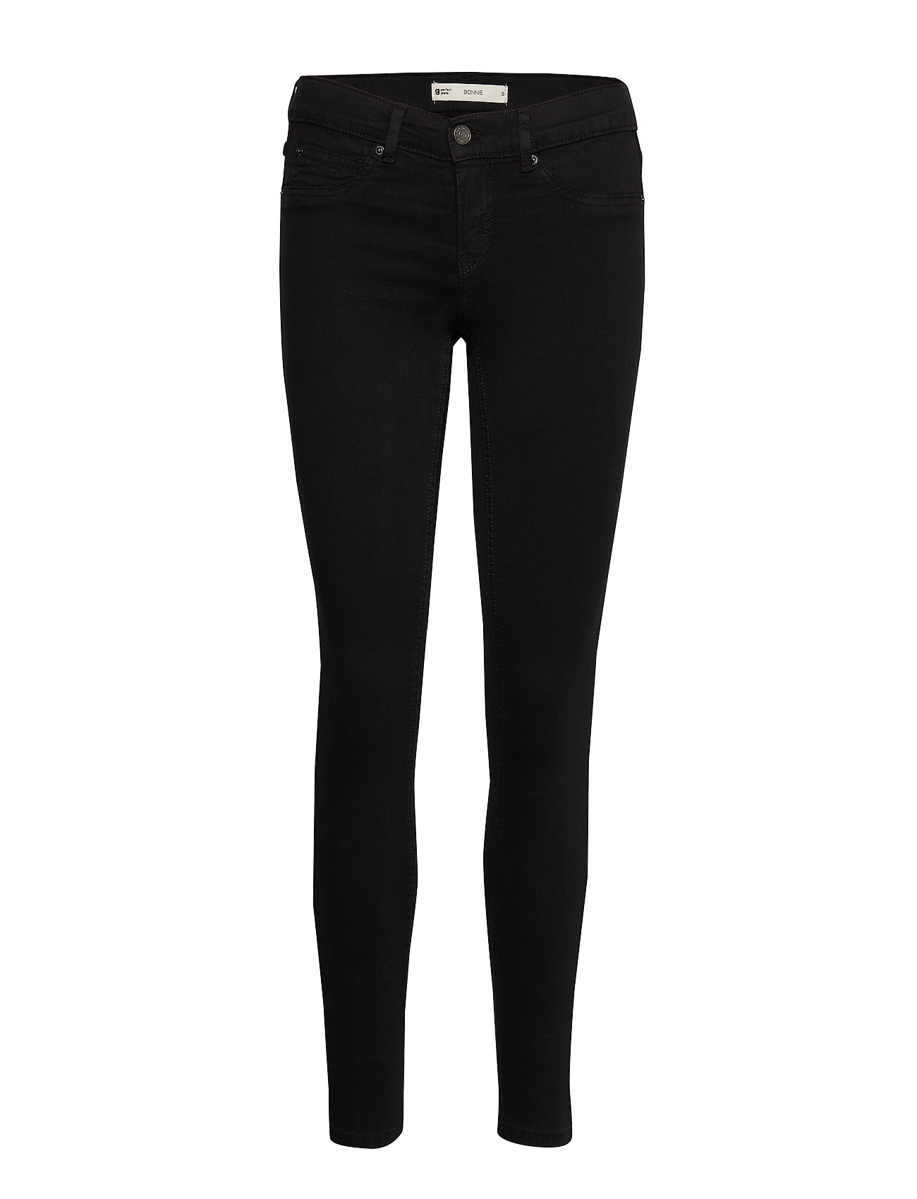Gina Tricot Bonnie low waist jeans - BLACK