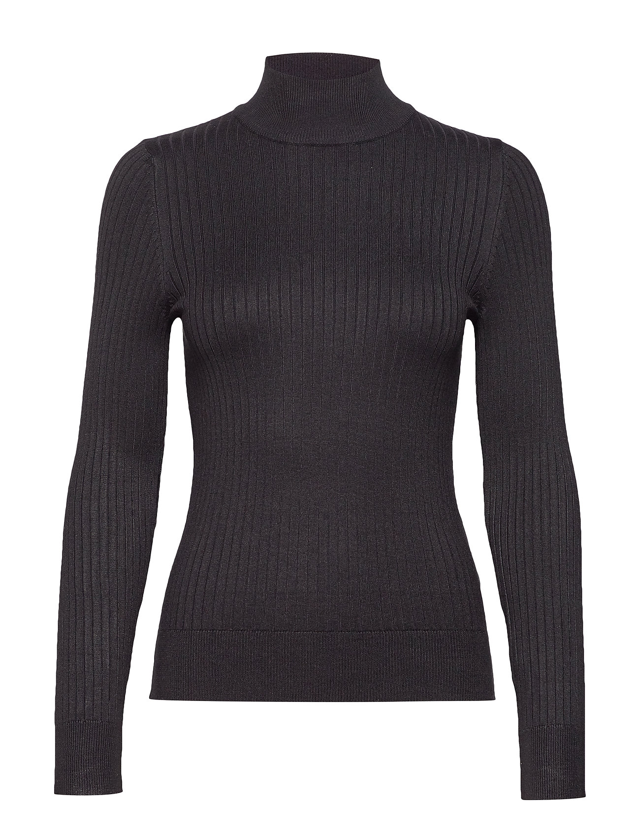 Gina Tricot Julia knitted sweater - BLACK