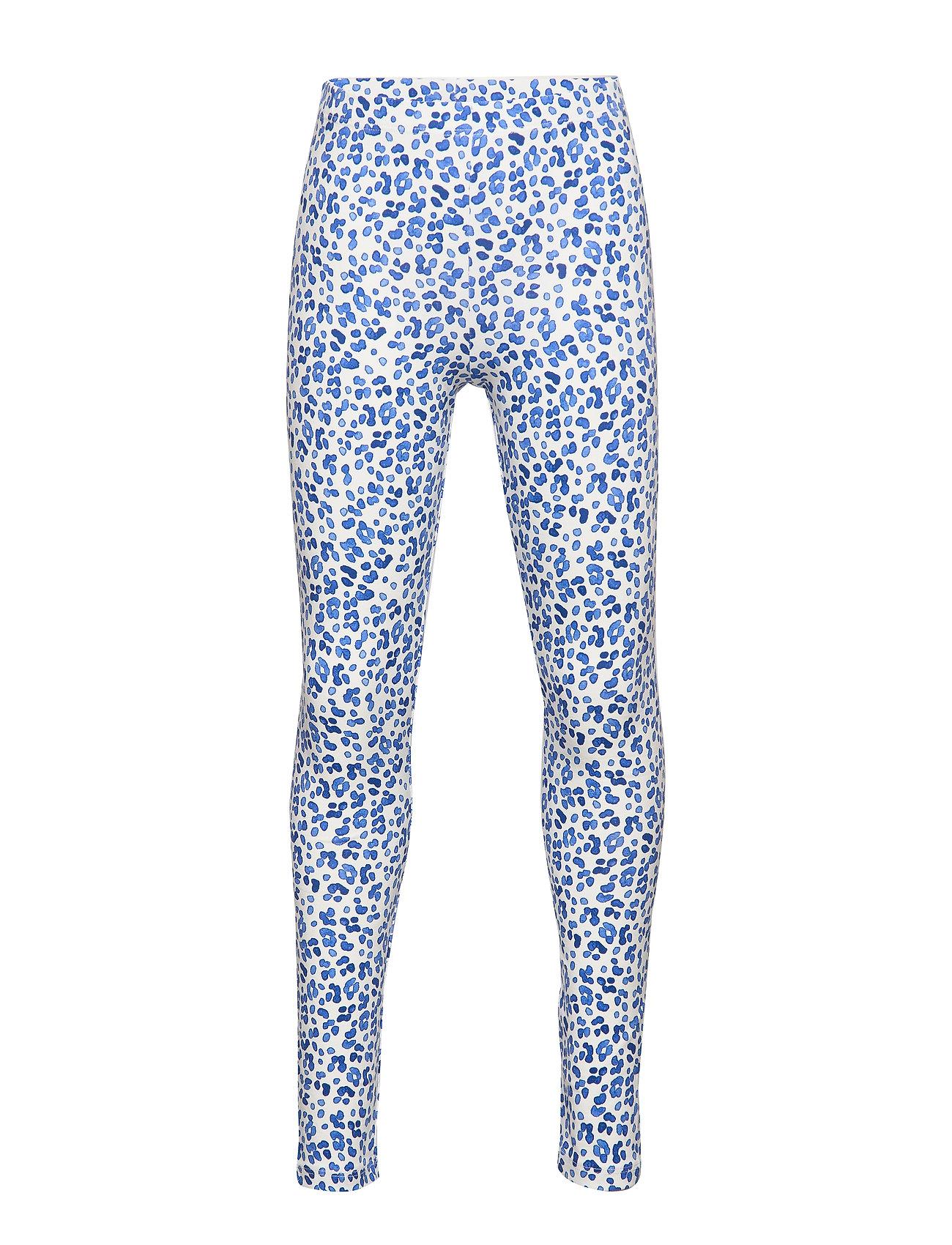 Gina Tricot Mini leggings - LEO BLUE (5533)