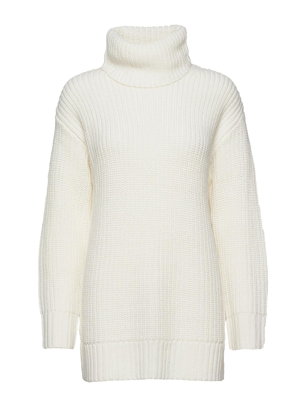 Gina Tricot Hera knitted tunic - OFFWHITE