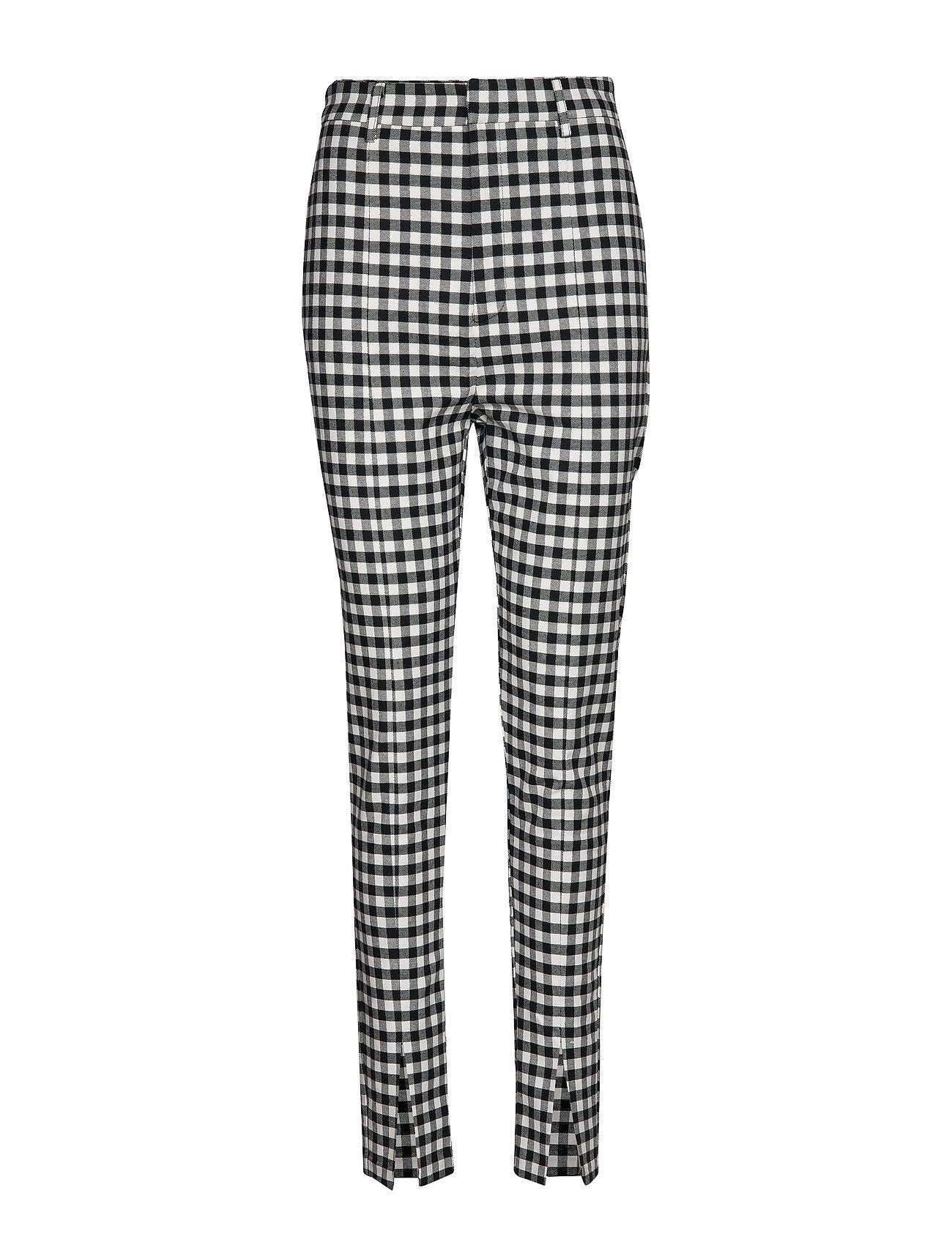 Gina Tricot Arena trousers - WHITE/BLACK