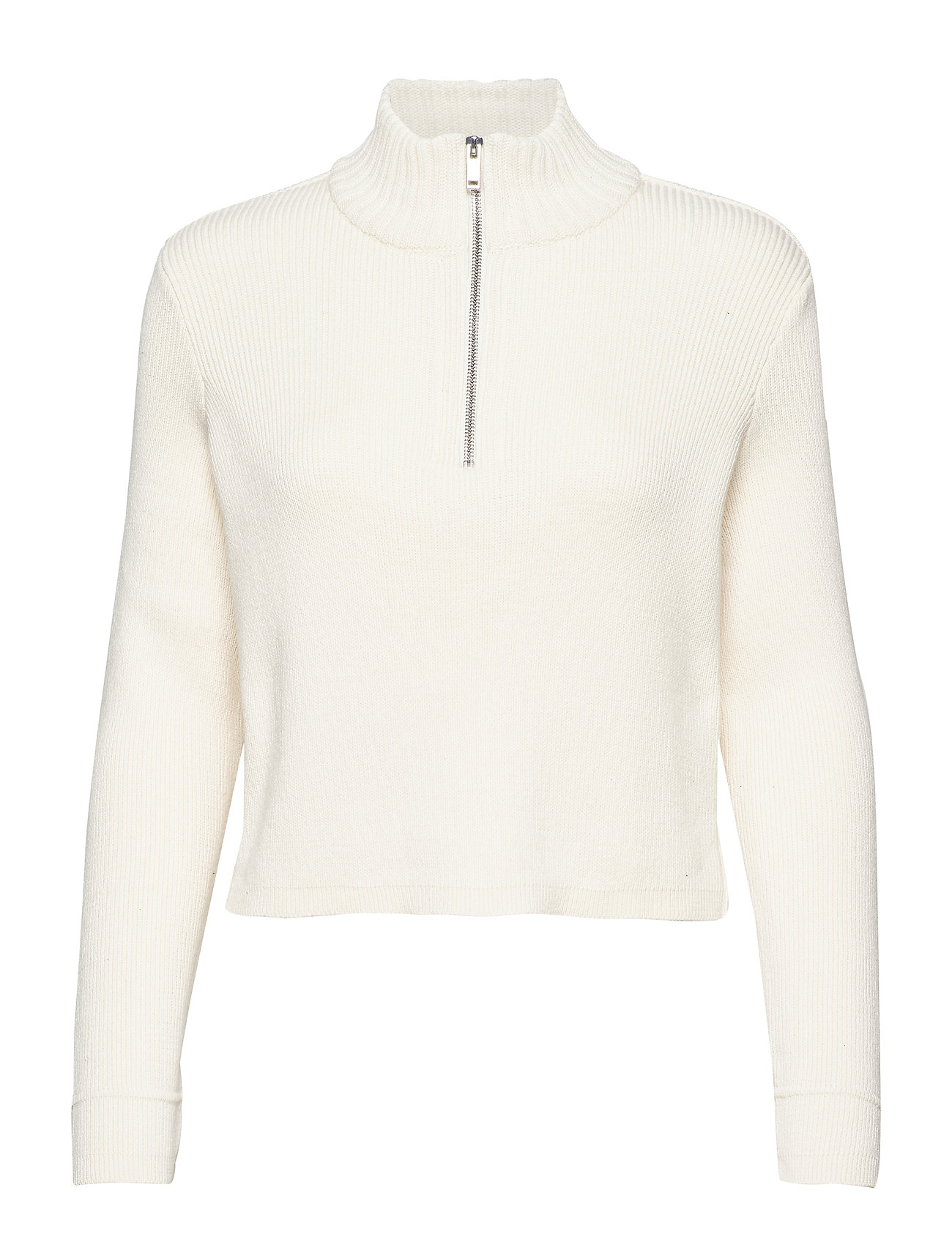 Gina Tricot Ingrid knitted sweater - WARM WHITE