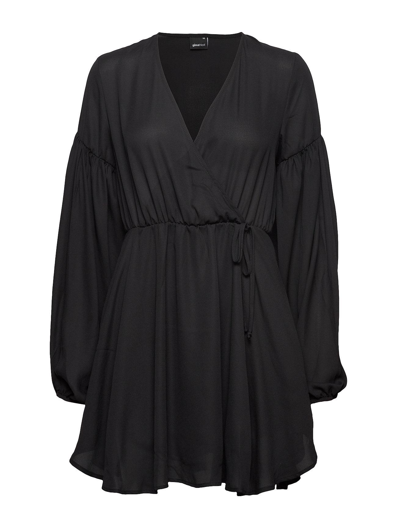 Gina Tricot Lillian dress - BLACK