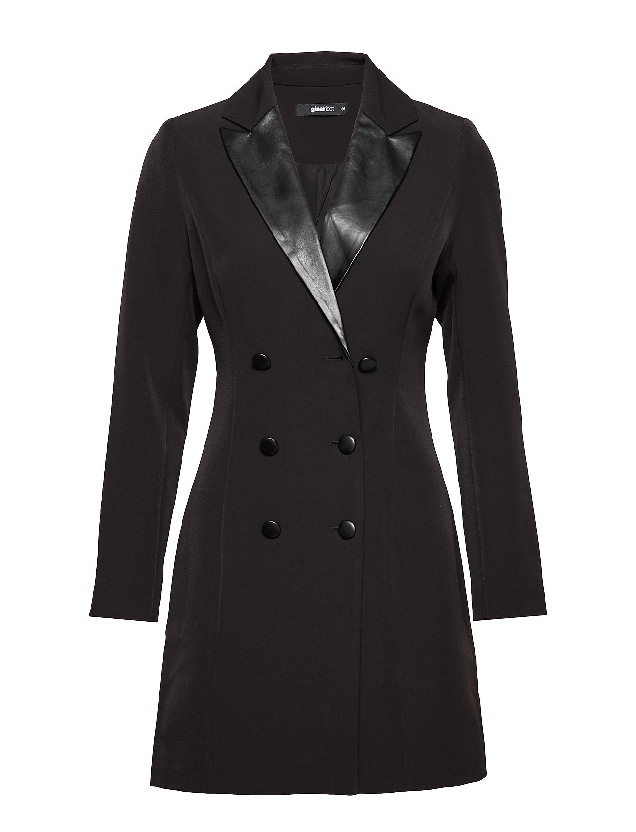 Gina Tricot Sanna blazer dress - BLACK