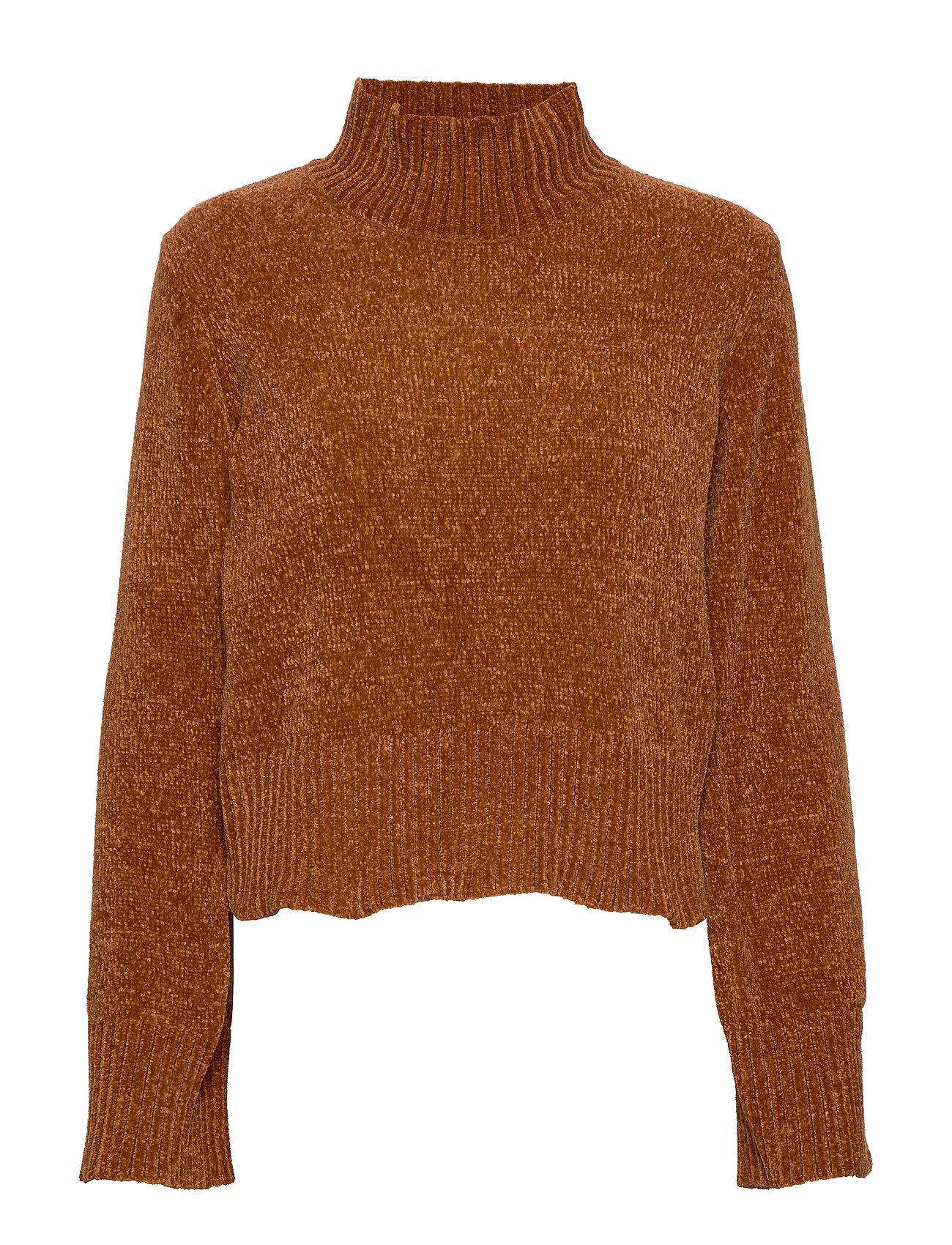Gina Tricot Eva knitted sweater - SUGAR ALMOND