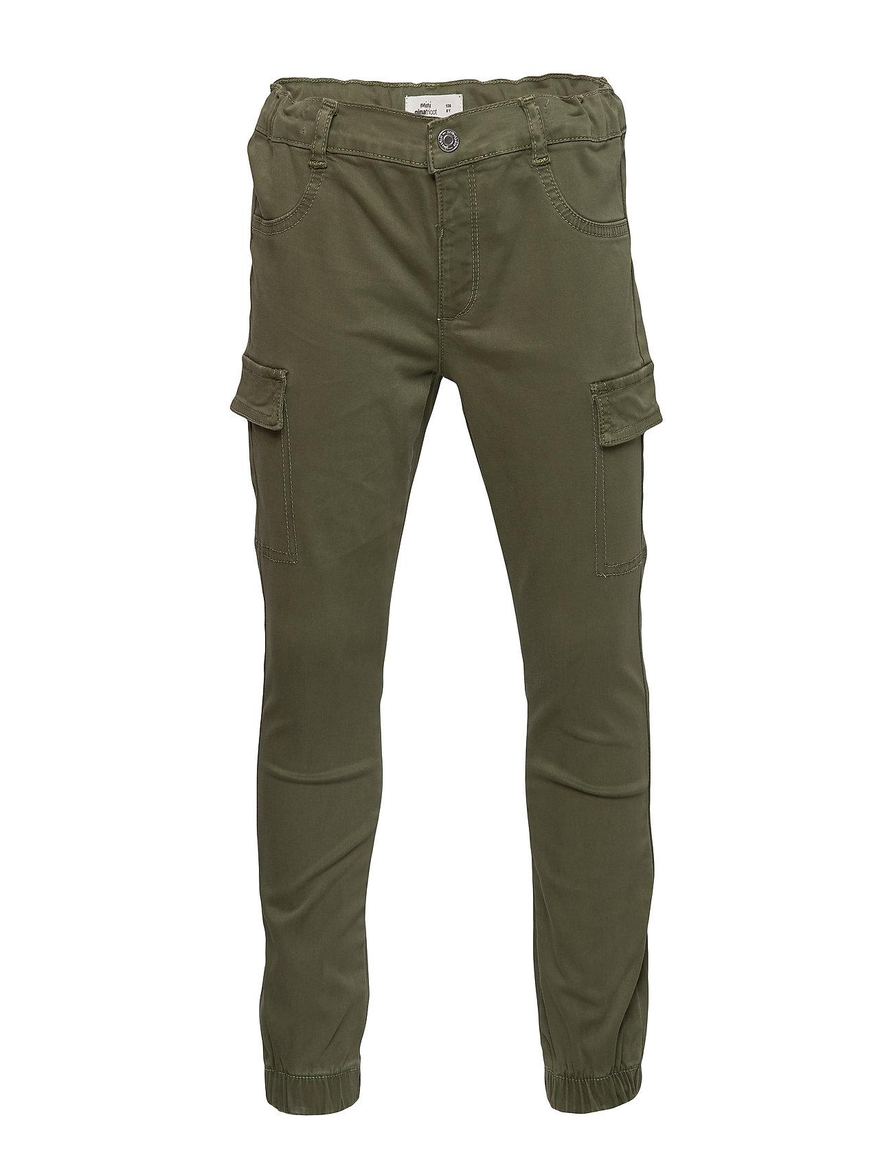 Gina Tricot Mini cargo trousers - CARGO GREEN