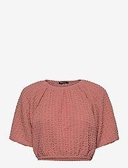 Gina Tricot - Edina top - navel shirts - rose dawn (3906) - 0
