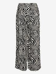 Gina Tricot - Disa trousers - bukser med brede ben - zebra - 1