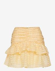 Gina Tricot - Simone skirt - korta kjolar - pale banana (2089) - 0