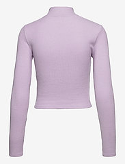 Gina Tricot - Eloise zip top - strikkede toppe - orchid petal (4330) - 1
