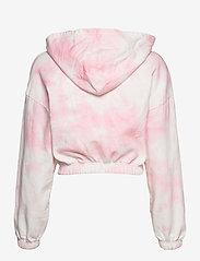 Gina Tricot - Jackie hoodie - hættetrøjer - pink tye die (3987) - 2