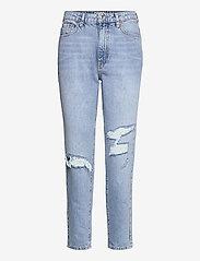 Dagny mom jeans - OCEAN BLUE DEST (5079)