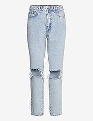 Gina Tricot - Dagny mom jeans - mom jeans - sky blue dest (5070) - 0