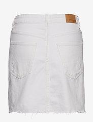 Gina Tricot - Vintage denim skirt - farkkuhameet - offwhite - 1