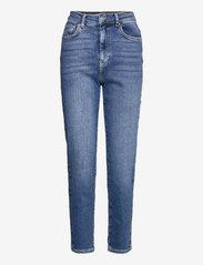 Comfy mom jeans - SKYLINE BLUE (5062)