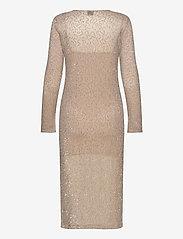 Gina Tricot - Judy midi dress - midimekot - beige (1040) - 2