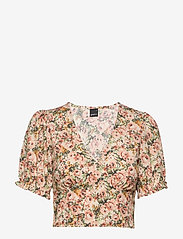 Gina Tricot - Kathy top - crop tops - rust rose (3941) - 0