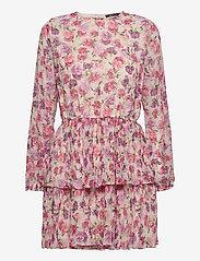 Gina Tricot - Amber pleated dress - lyhyet mekot - flower (4140) - 0