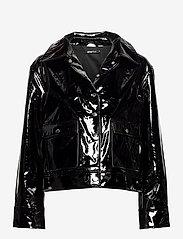 Gina Tricot - Rut trucker jacket - skinnjackor - black (9000) - 0