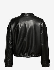 Gina Tricot - Hope pu jacket - skinnjakker - black (9000) - 2