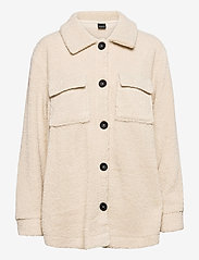 Gina Tricot - Edina jacket - fleecetøj - oyster gray (7035) - 0