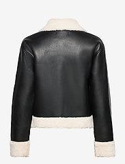 Gina Tricot - Amanda trucker jacket - skinnjakker - black (9000) - 1