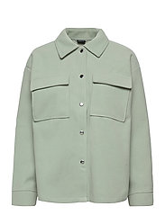 Majken jacket - AQUA GRAY (5187)
