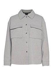 Majken jacket - GREY MELANGE (8181)