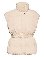 Zola puffer vest - WHITECAP GRAY (1303)