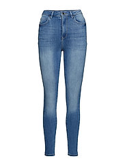 Gina curve jeans - MID BLUE