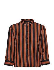 Kajsa shirt - SIERRA/BLACK
