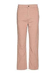 Gabby corduroy trousers - MISTY ROSE