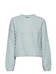 Elisa knitted sweater - AQUA GREEN